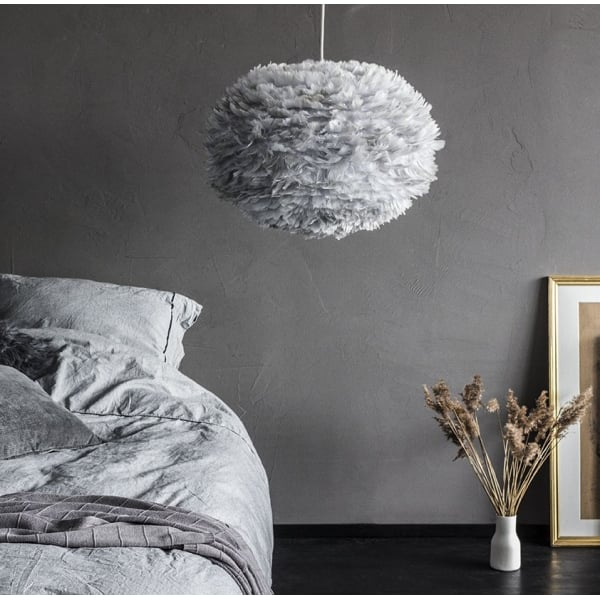 vita copenhagen eos large light shade feather lampshade. Black Bedroom Furniture Sets. Home Design Ideas