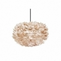 Vita Copenhagen Eos Feather Pendant Light Shade / Medium Lampshade - Light Brown