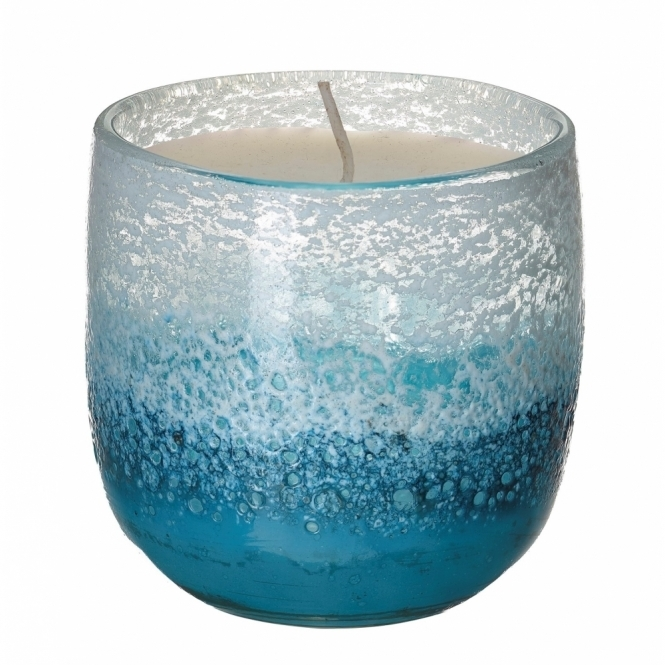 Voyage Elemental Khione Frost Glass Candle - Gift Box