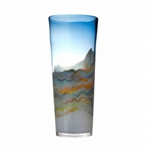 Rhiain Medium Vase - Agate