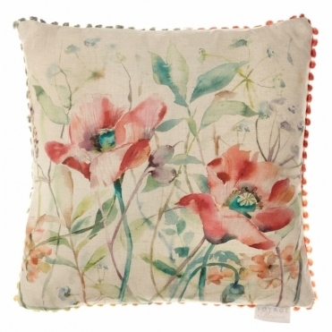 Auburn Garden Square Cushion