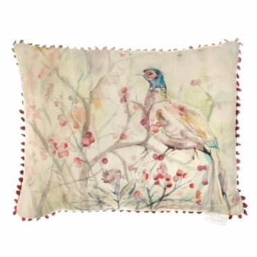 Blackberry Row Rectangular Cushion - Pheasant