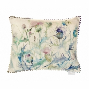 Damson Bristle Rectangular Cushion