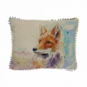 Foxy Rectangular Cushion - Fox