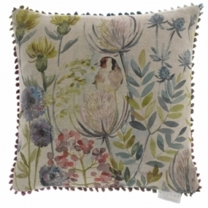 Goldfinch Square Cushion 43cm