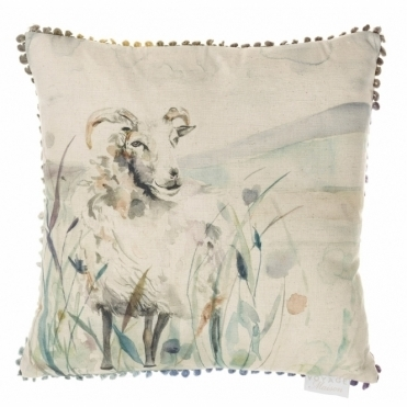 Graze Square Cushion - Sheep
