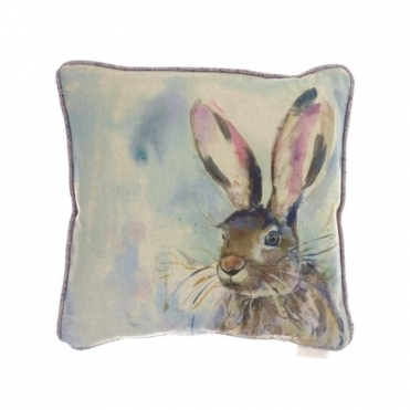 Harriet Hare Square Cushion