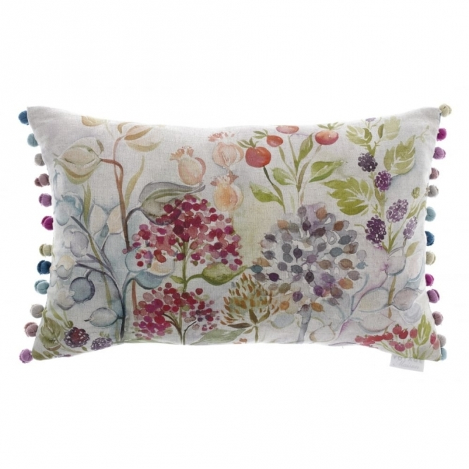 Voyage Maison Country Hedgerow Rectangular Linen Cushion