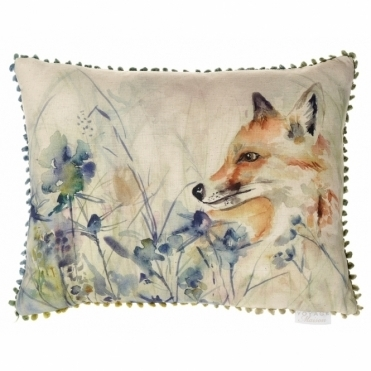 Hide & Seek Rectangular Cushion - Fox