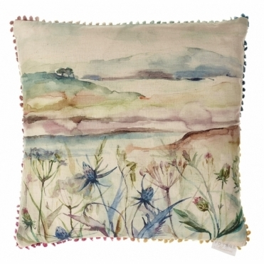 Highland Haze Square 50cm Cushion - Landscape