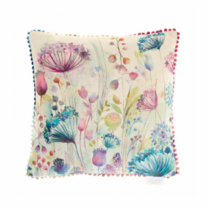 Meadow Square Cushion 43cm - Flowers