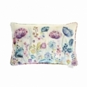 Voyage Maison Country Meadow White Rectangular Cushion - Flowers