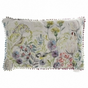 Morning Chorus Rectangular Cushion