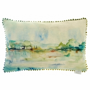 Opal Haze Rectangular Cushion - Landscape