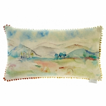 Russet Shores Rectangular Cushion - Landscape