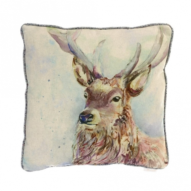 Voyage Maison Country Wallace Square Cushion 50cm - Stag