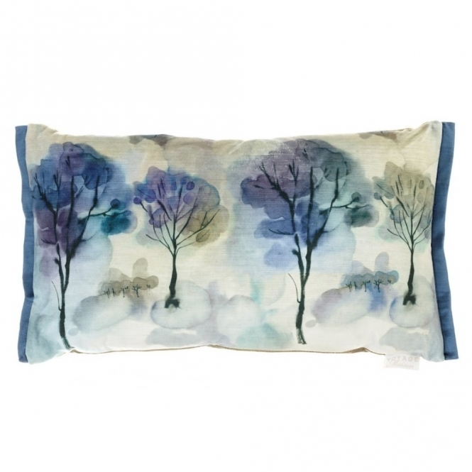 Voyage Maison Couture Helios Midnight Rectangular Cushion - Trees