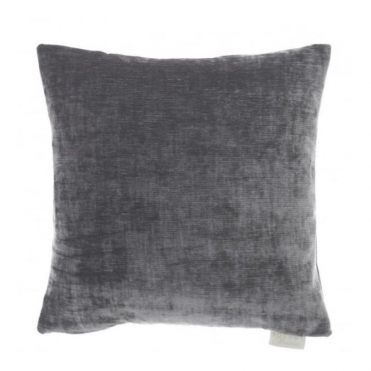 Mimosa Square Cushion - Lead