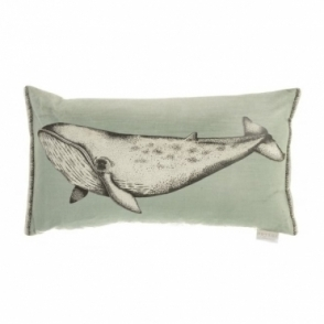 Atlantic Whale Rectangular Cushion