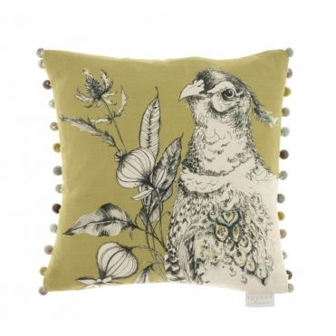 Avem Pheasant Cushion - Olive