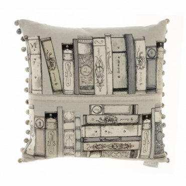 Fable Square Cushion - Books