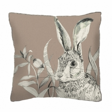 Hare Square Cushion - Small