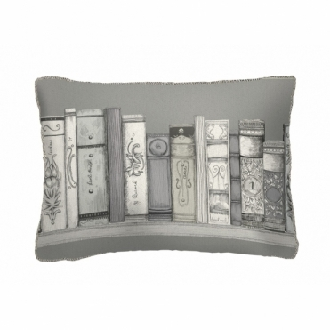 Library Books Rectangular Cushion - Small