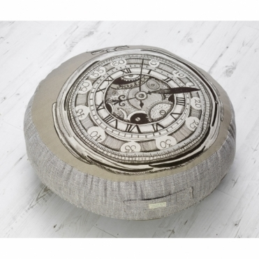 Pocket Watch Floor Cushion - Medium