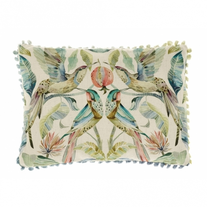 Voyage Maison Tiverton Colyford Hummingbirds Rectangular Cushion - Small