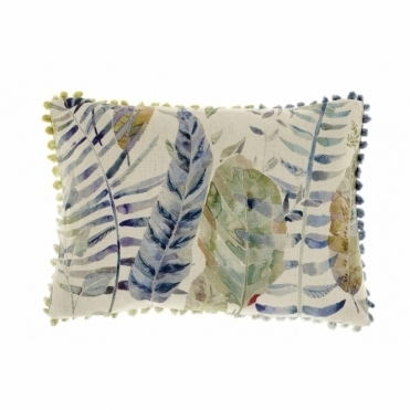Kenton Skylark Leaves Rectangular Cushion - Small