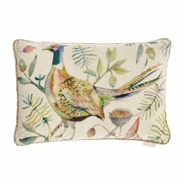 Pheasant Autumn Rectangular Cushion