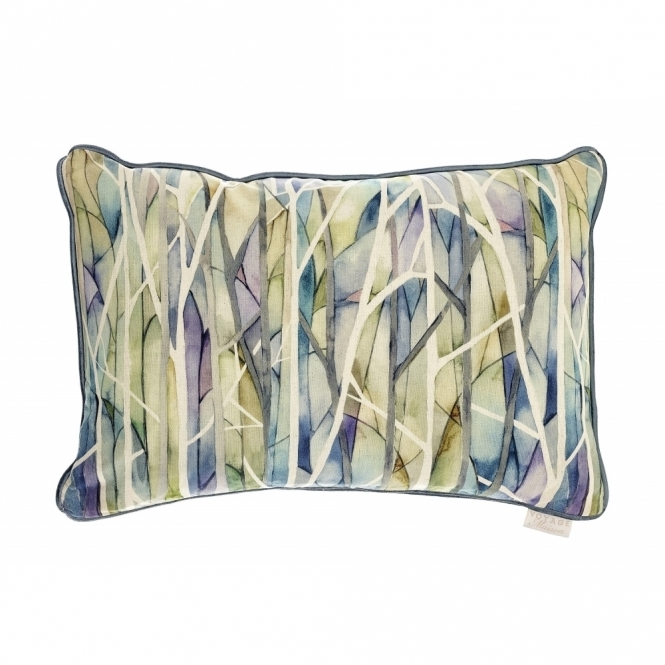 Voyage Maison Tiverton Woodbury Skylark Rectangular Cushion - Trees