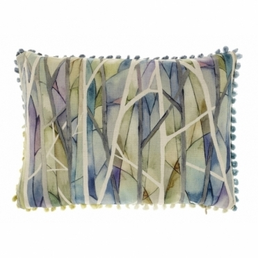 Woodbury Skylark Trees Rectangular Cushion - Small
