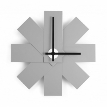 Watch Me Wall Clock Grey