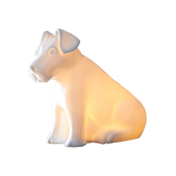 White Rabbit England Terrier Puppy Led Lamp Hurn And Hurn