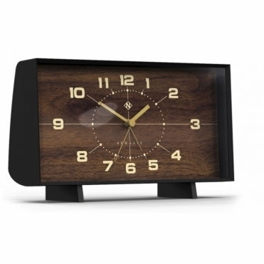 Wideboy Mantel / Alarm Clock - Wood