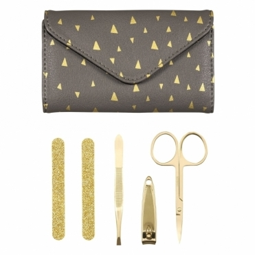Manicure Set - Faux Leather