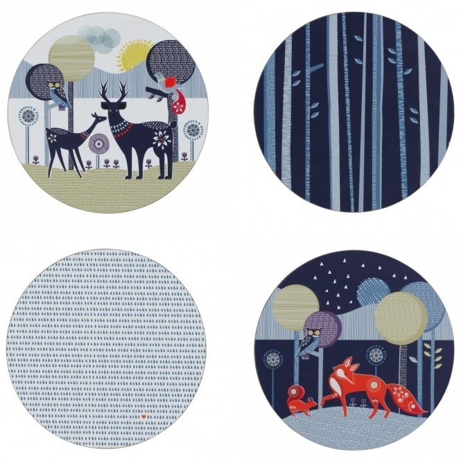 Wild & Wolf Folklore Placemats - Set of 4