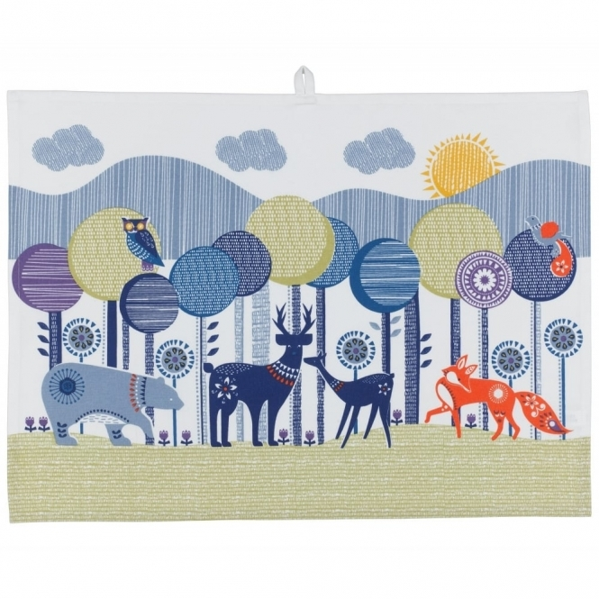 Wild & Wolf Folklore Tea Towels - Set of 2