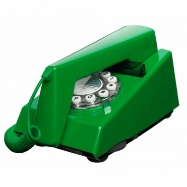 Trim Phone Emerald Green Retro Telephone