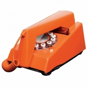 Trim Phone Goldfish Orange Retro Telephone