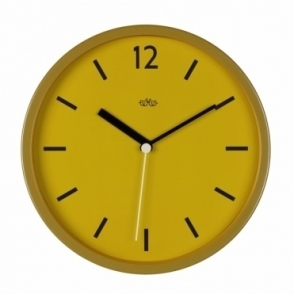 English Mustard Wall Clock