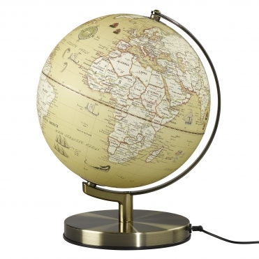 Illuminated LED Light Up Globe Lamp 10