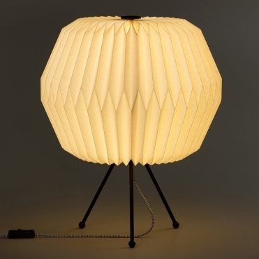 Phoenix Table Lamp with Paper Shade