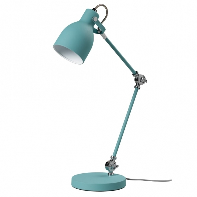 Wild & Wolf Wild Wood Task Lamp French Blue Table Desk Light