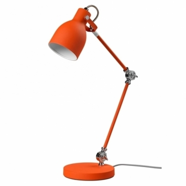 Task Lamp Table Desk Light - Goldfish Orange