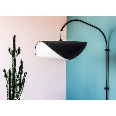 Willow Single Wall Lamp - Black