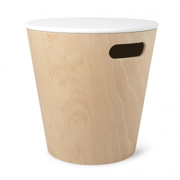 Woodrow Storage Stool / Side Table